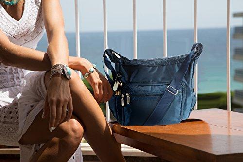 Suvelle Lightweight Hobo Travel Everyday Crossbody Bag Multi Pocket Shoulder Handbag 9020 by SUVELLÉ (Image #1)