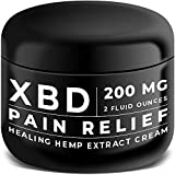#9: Pain Relief Hemp Extract Cream - Arthritis, Carpal Tunnel, Knee, Neck and Back Pain Relief - XBD Topical Lotion Made in USA - Vegan and no Cruelty