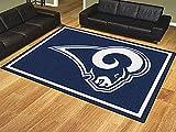 """Wholesale 8x10 Rug NFL - St Louis Rams 87""""x117"""""""