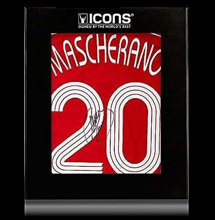 5924864ec Javier Mascherano Back Autographed Signed Liverpool 2006-07 Home ...