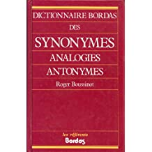 Dict.des synonymes analogies