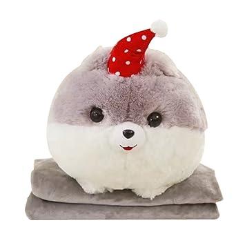 Amazon Com Nas Aostar 2 In 1 Pillow Blanket Plush Stuffed Animal