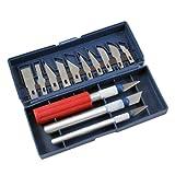 16pc Hobby Razor Knife Set W/blades W/case