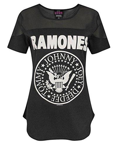 Femmes Ramones Clothing Amplified T shirt BYZOwccP4q