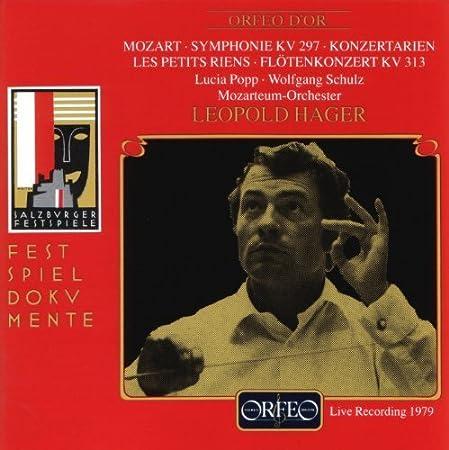 Symph. Kv 297 Konzertarien Les Petits Riens Floten by Mozart, W.A. (1994-07-04)