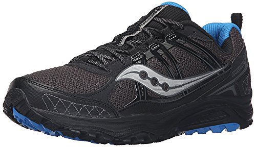 Saucony Mens Grid Excursion tr10 Running Shoe, negro, 43 D(M) EU/8.5 D(M) UK
