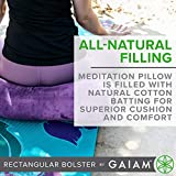 Gaiam Yoga Bolster Rectangular Meditation