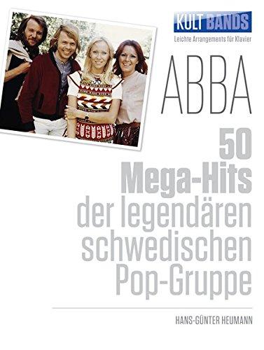Kult Bands: ABBA - 50 Mega-Hits -For Piano & Voice-: Songbook für Klavier Taschenbuch – 13. März 2014 Hans-Günter Heumann Bosworth 3865438156 Musikalien