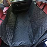 Heavy Duty Luxurious Dog Seat Hammock Cover for Protecting Your Car, Truck, SUV - Water-Resistant Padded Pet Protector by CarPalz
