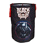 avengers boys bedroom designs Black Panther Collapsible Kids Laundry Hamper by Marvel - Pop Up Portable Children's Clothes Basket for Closet, Bedroom, Boys & Girls Clothes - Foldable Laundry Bin with Strong Handles & Design