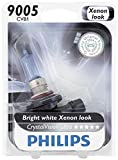 Philips 9005 CrystalVision Ultra Upgrade Headlight Bulb, 1 Pack