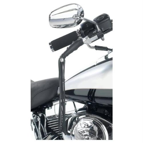 New Diamond Plate Solid Genuine Leather Black Motorcycle Lever Covers Sold In Pairs Popular