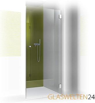 Puerta de ducha a medida, tipo FA-101, cristal de 8 mm, herrajes de marca, ducha en medida especial, fabricación a medida: Amazon.es: Bricolaje y herramientas