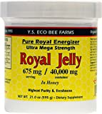 Royal Jelly - Honey Bee- Pure Royal Energizer -- 21 Oz. - 675 gm - by Y.S.Eco Bee Farms
