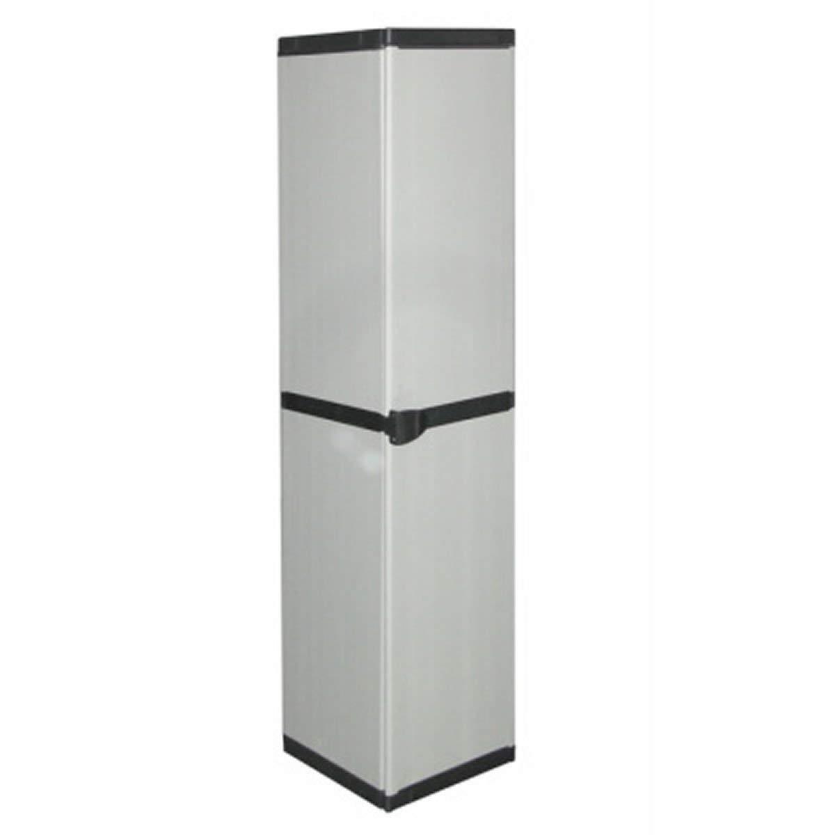 34 x 39.5 x 85 cm Grey Mongardi 7813C04 Modular Furniture Cabinet