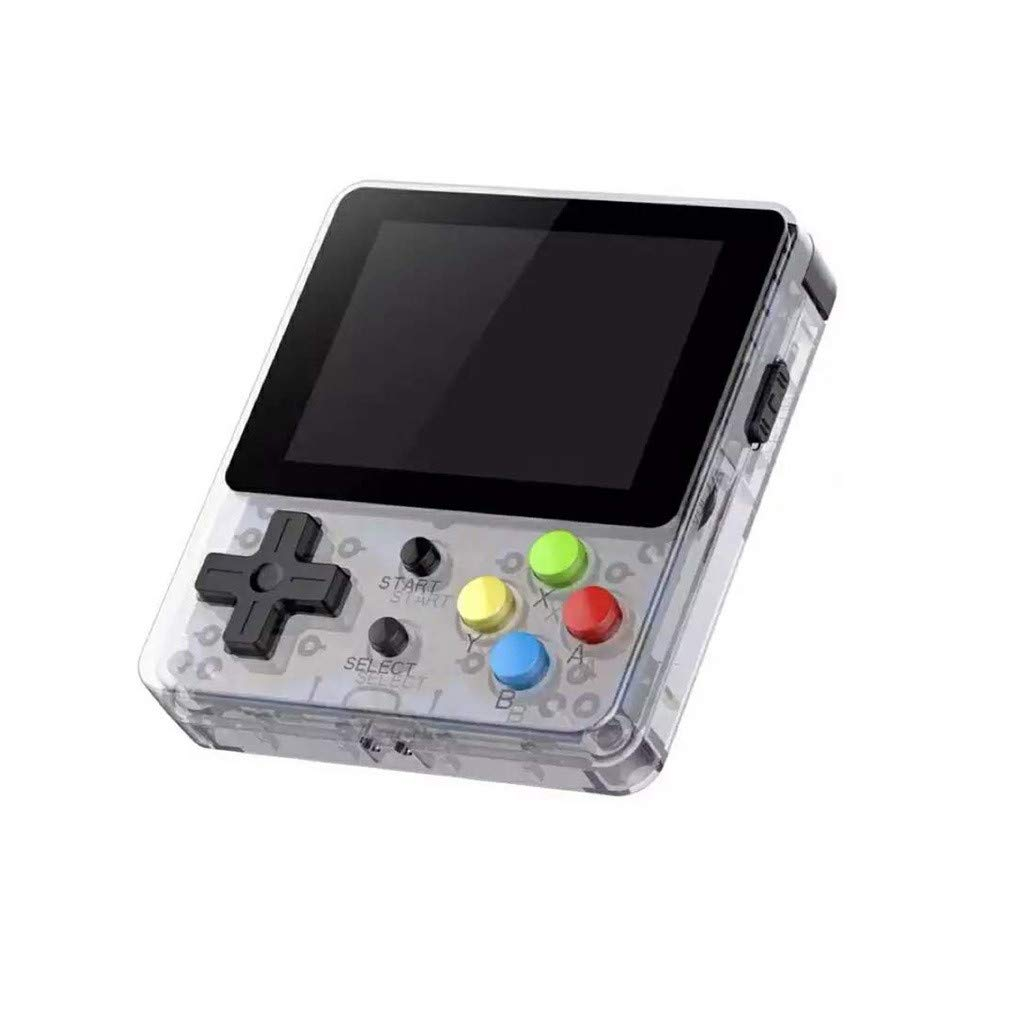 Children Game Player, LtrottedJ Game Screen by 2.6 Thumbs Mini Palm Palm Console of Nostalgic Game Children (White)