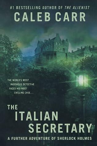 book cover of The Italian Secretary