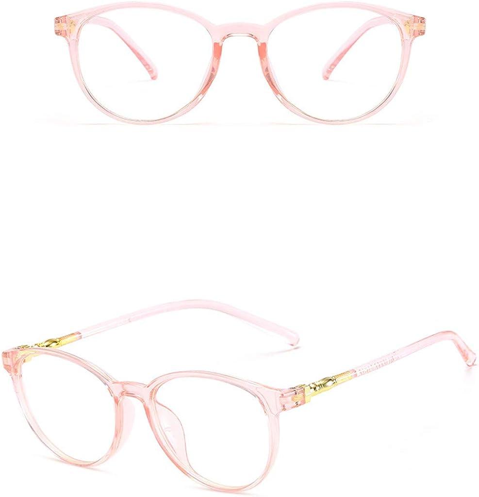 Vintage Square Clear Glasses Non-Prescription Eyeglasses Frames for Women Stylish Lightweight Mirror Lens by 2DXuixsh