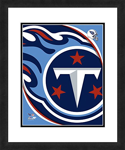 (NFL Tennessee Titans Logo, Beautifully Framed and Double Matted, 18