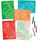 Melissa & Doug Textured Stencils - Dinosaurs