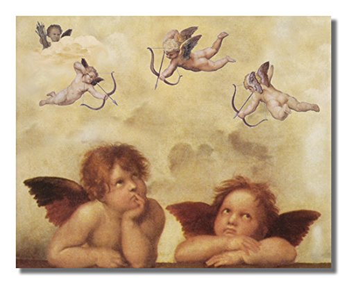 - Raphael Cherubs Angels Religious Wall Picture 8x10 Art Print