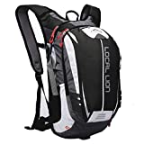 LOCALLION Outdoor Sports Hiking Camping Daypack Travel Cycling Backpack Waterproof Rucksack Unisex 18L