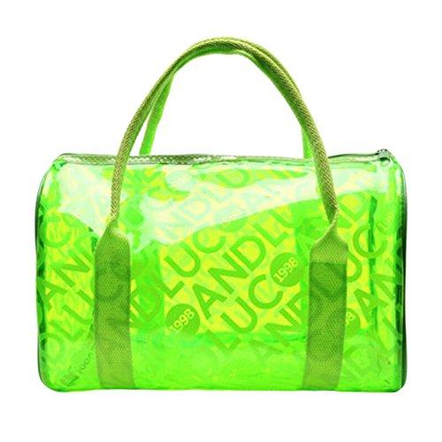 George Jimmy Swimming Green Bag Storage Package Swimwear Waterproof Backpack by George Jimmy