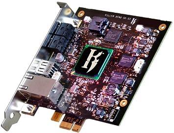 Golden Arrow Killer Xeno Pro Gaming Netzwerkkarte PCI-e