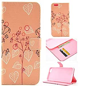 For iPhone 6S,6S Case,6S Leather,6S Leather Case,6S Wallet Case,Candywe Unique Design PU Leather Case For iPhone 6S 4.7 inch#007