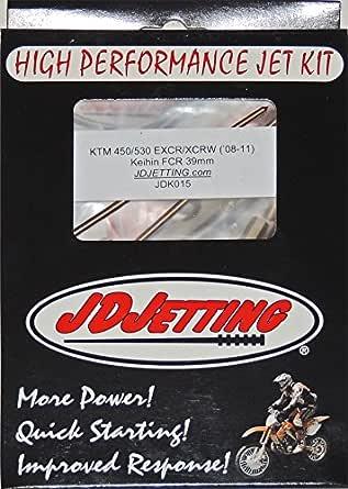 JD Jetting Jet Kit High Performance KTM 400 XCW XC-W 09 10 JDK018 NEW