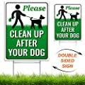 Signs Authority Clean Up After Your Dog