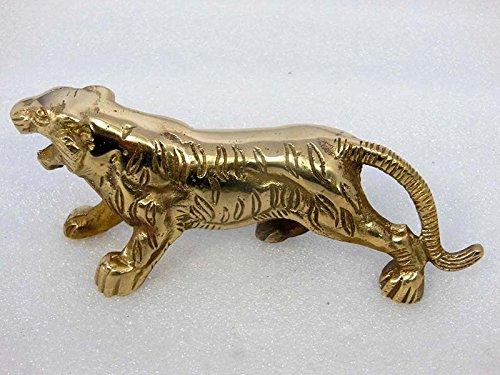 ROYALS GARAGE Royal Enfield BSA Military Brass Lion/ Tiger Motif For Front Mudguards Fender Golden