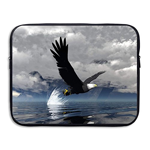 Sea Eagle Water Repellent Laptop Case Bags Printed Ultrabook Briefcase Sleeve Bags Cover For Macbook Pro/Notebook/Acer/Asus/Lenovo Dell 15 Inch