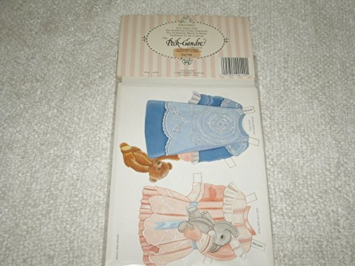 Peck-gandre' 1990 the hilda toddler paper doll set