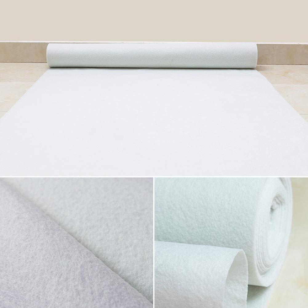 QiangDa Tappeto Nuziale Tappeti Sposa Ceremony Aisle Runner Monouso Tessuto Non Tessuto Tappeto Bianco Decorazioni per La Cerimonia Nuziale da Sogno pi/ù Dimensioni