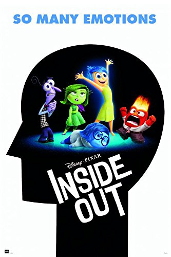 Inside Out - Disney / Pixar Movie Poster / Print Advance Style - So