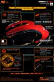Shogun Bros. Ballista MK-I 82 Wired Pro 8200dpi Commander Series Gaming Mouse - Passion Red (PM-1002-BL)