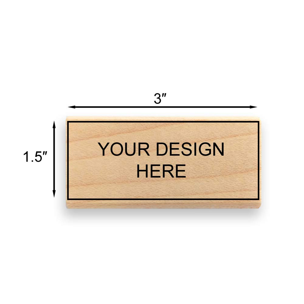 - Many Sizes to Choose from Max Image Size: 4 high x 4 Wide Custom Art Mount Rubber Stamp Upload Your Own Artwork 101mm x 101mm