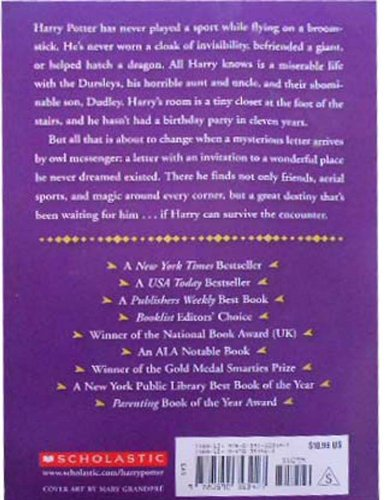 Harry potter book summary