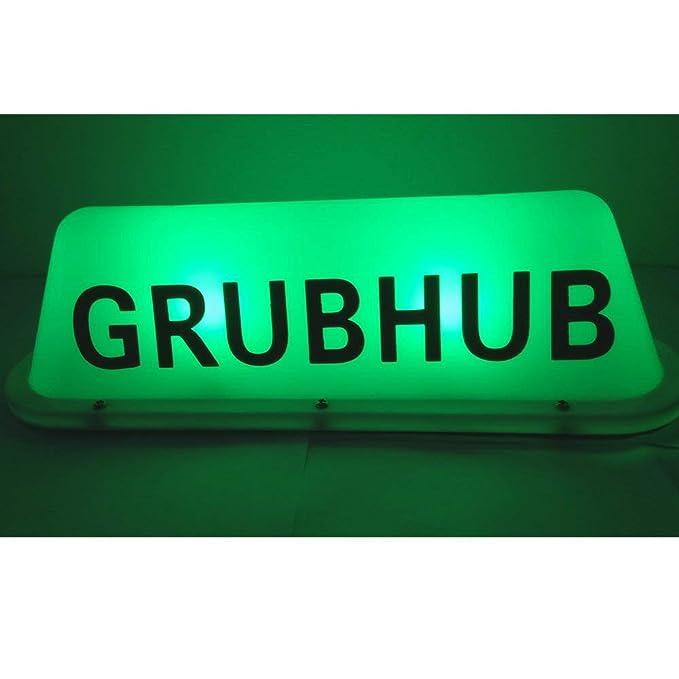 Amazon.com: Sizet GRUBHUB Señal de luz, DC 12 V intermitente ...