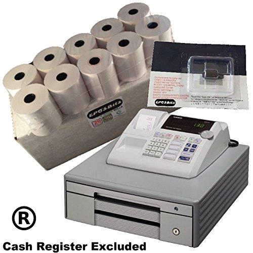 eposbits® marca 20 rollos + 1 x de tinta para Casio grande Draw ...