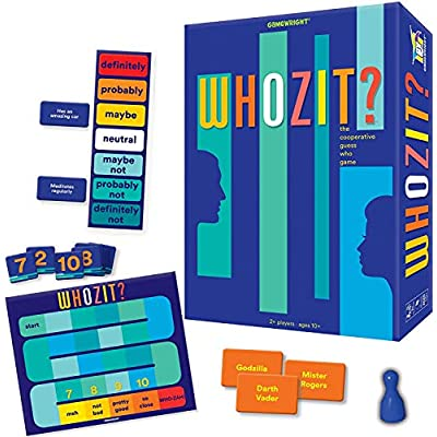 Gamewright Whozit? The Cooperative Guess Who Game: Toys & Games
