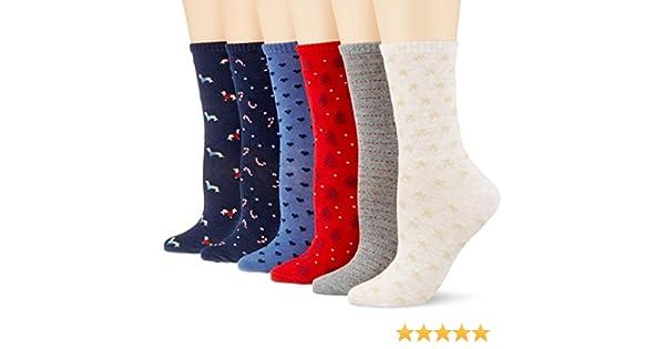 Womensecret 4482441, Calcetines para Mujer, Varios colores, One Size (Tamaño del Fabricante:U): Amazon.es: Ropa y accesorios