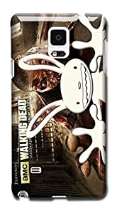 Tomhousomick Custom Design The Walking Dead Case for Samsung Galaxy Note 4 Phone Case Cover #89
