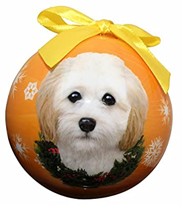 """""""Cockapoo Christmas Ornament"""" Shatter Proof Ball Easy To Personalize A Perfect Gift For Cockapoo Lovers"""