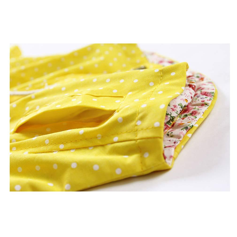Beb/é Ni/ñas Floral impresi/ón prendas cortaviento chaquetas Beb/é Manga Larga con Capucha de Abrigo//Amarillo //Rosa 1-3 A/ños//Ni/ñas