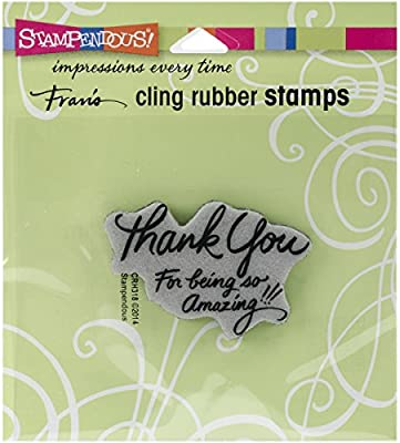 Be Yourself Stampedous Rubber Stamp
