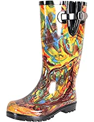 Nomad Womens Artist Boot,10 B(M) US,Butterfly Fantasy