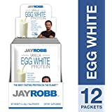 Jay Robb - Egg White Protein Powder, Outrageously Delicious, Vanilla, 12 Packets