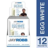 Cheap Jay Robb – Egg White Protein Powder, Outrageously Delicious, Vanilla, 12 Packets